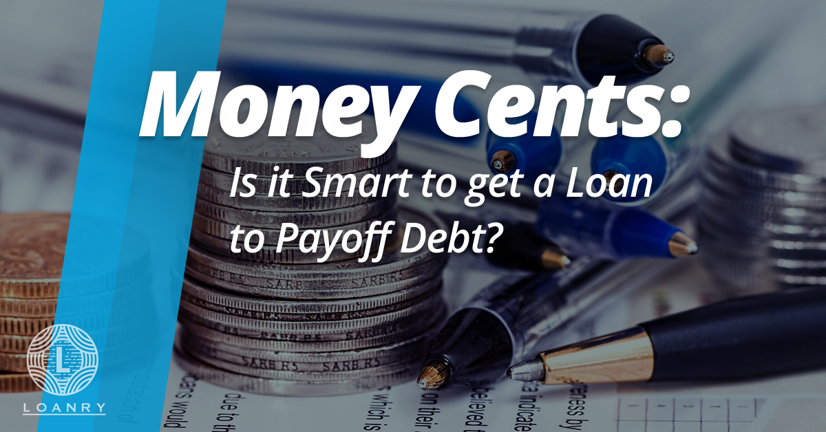 Payoff Debt with personal loans