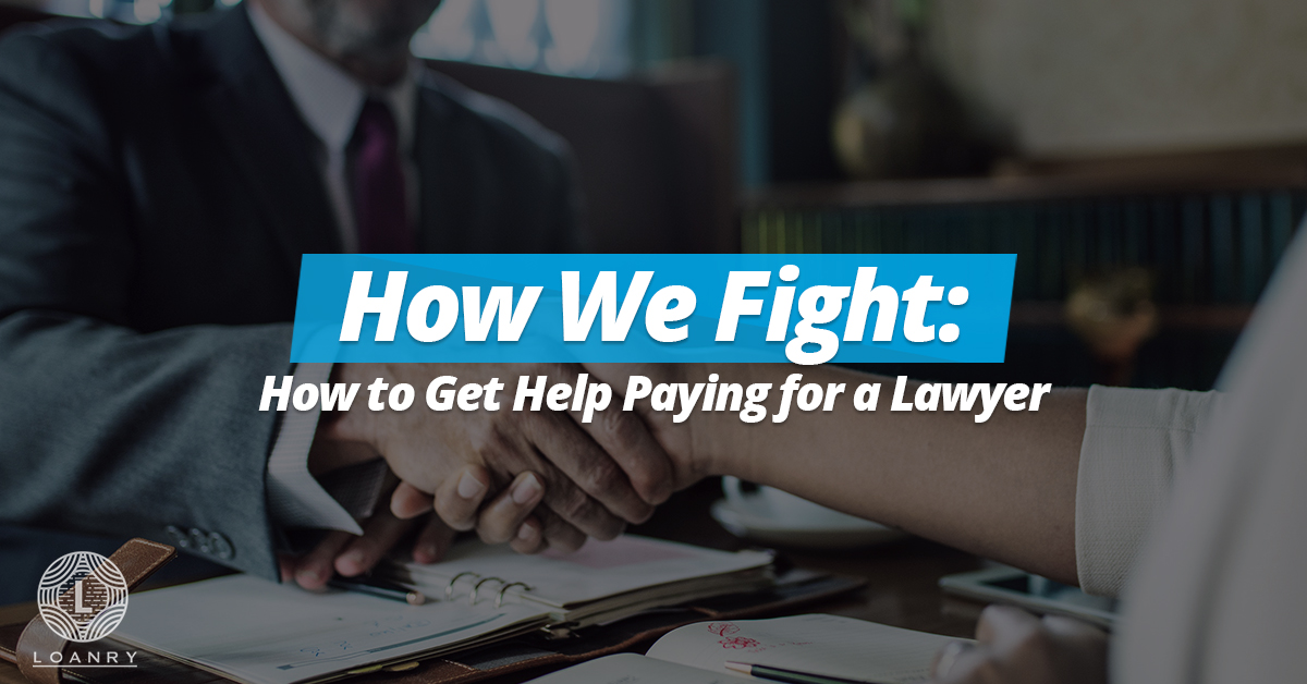 Get help paying for a lawyer