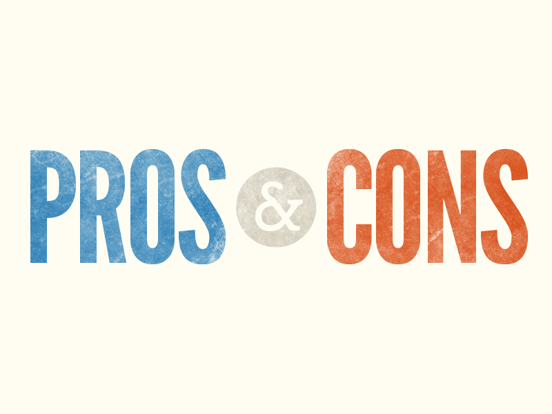 pros and cons personal loans