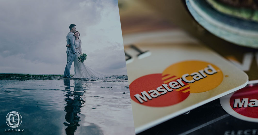 wedding loans vs credit cards blog