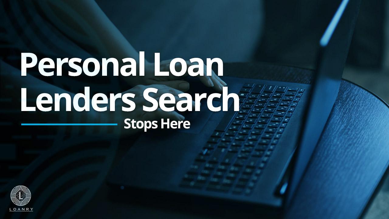 Personal Loan Lenders Search