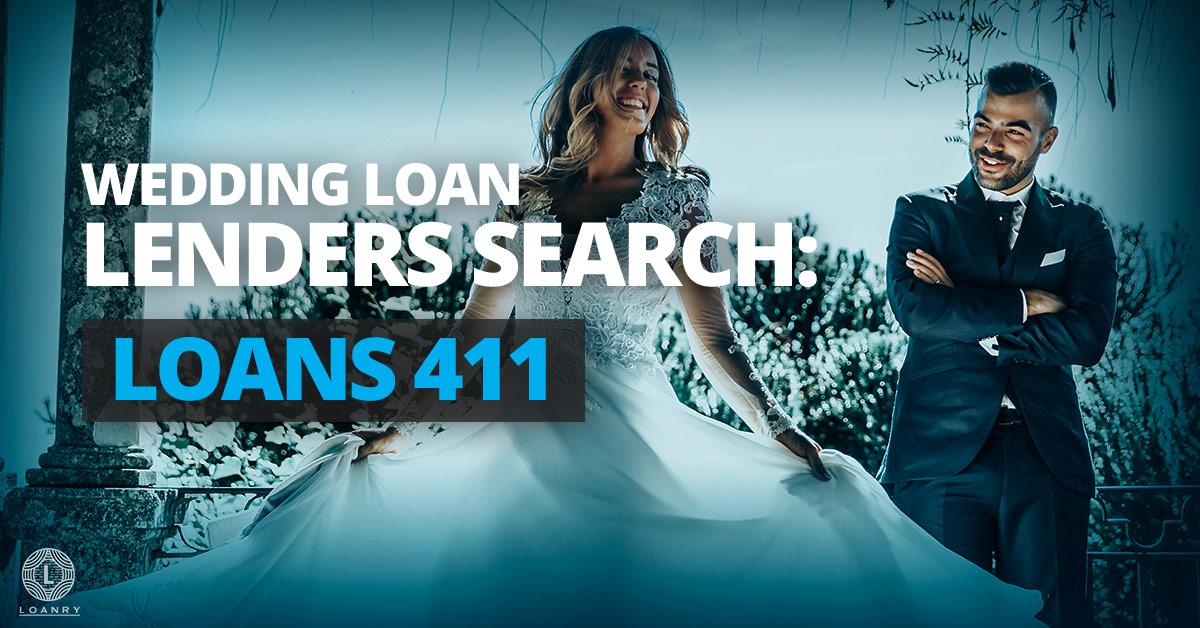 Wedding Loan Lenders Search