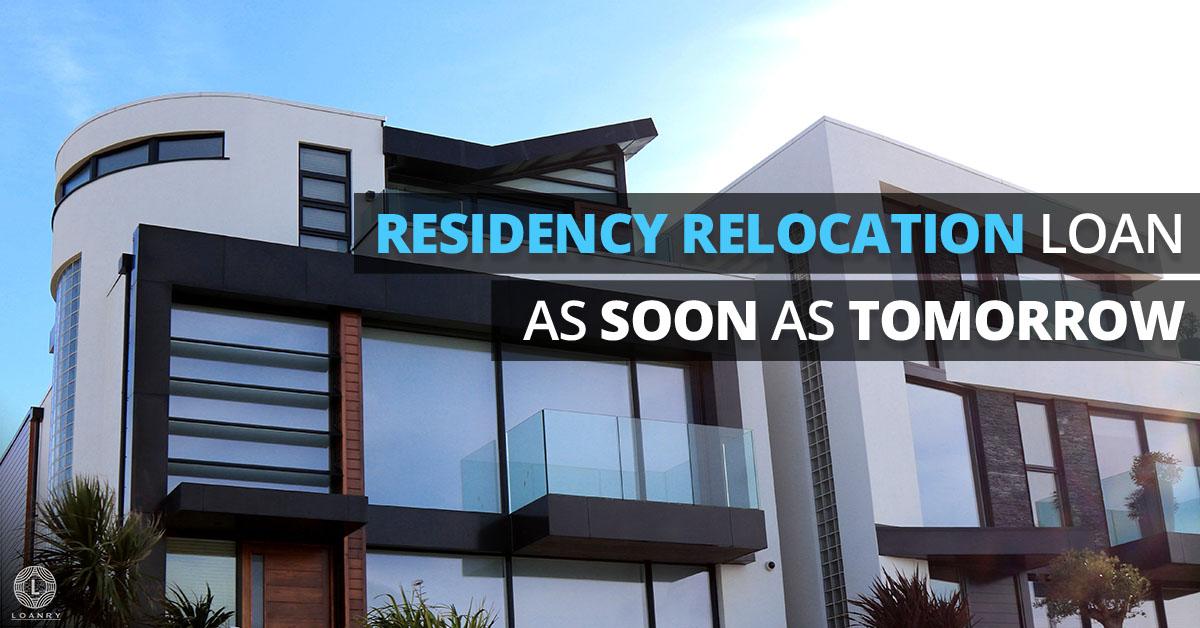 Residency Relocation Loan