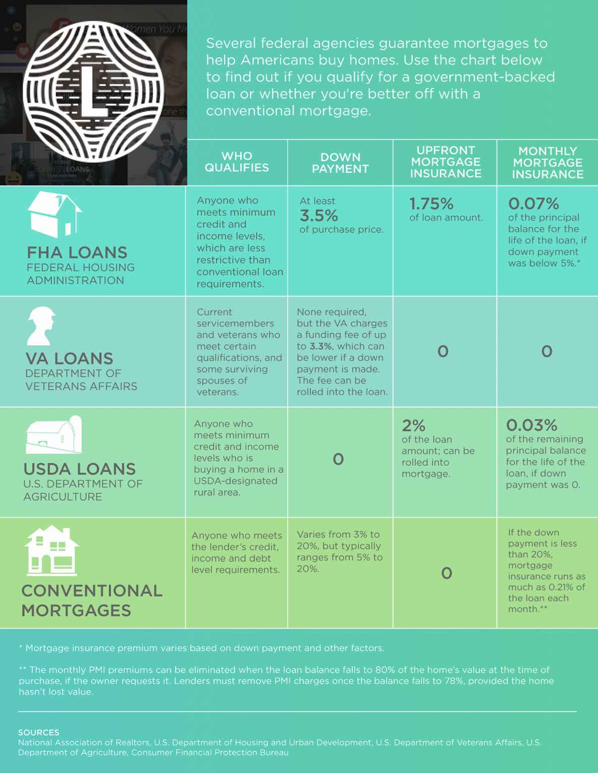 Government Mortgage Loan Type