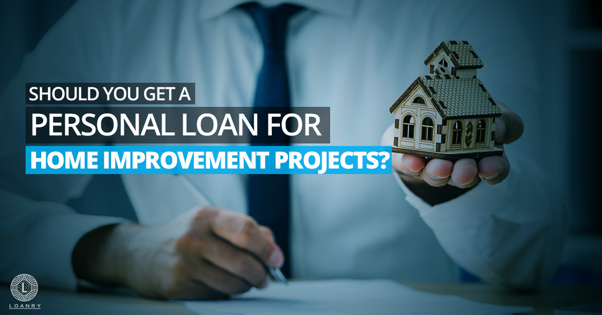 Personal Loan for Home Improvement Projects