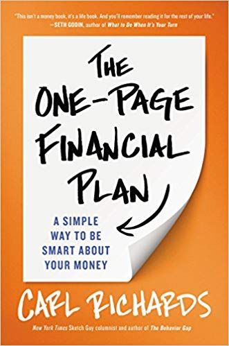 Cover of The One-Page Financial Plan: A Simple Way To Be Smart About Your Money
