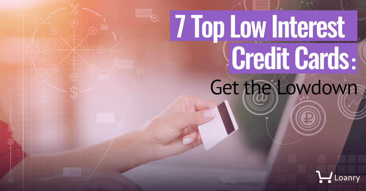 Top low interest credit cards cover photo