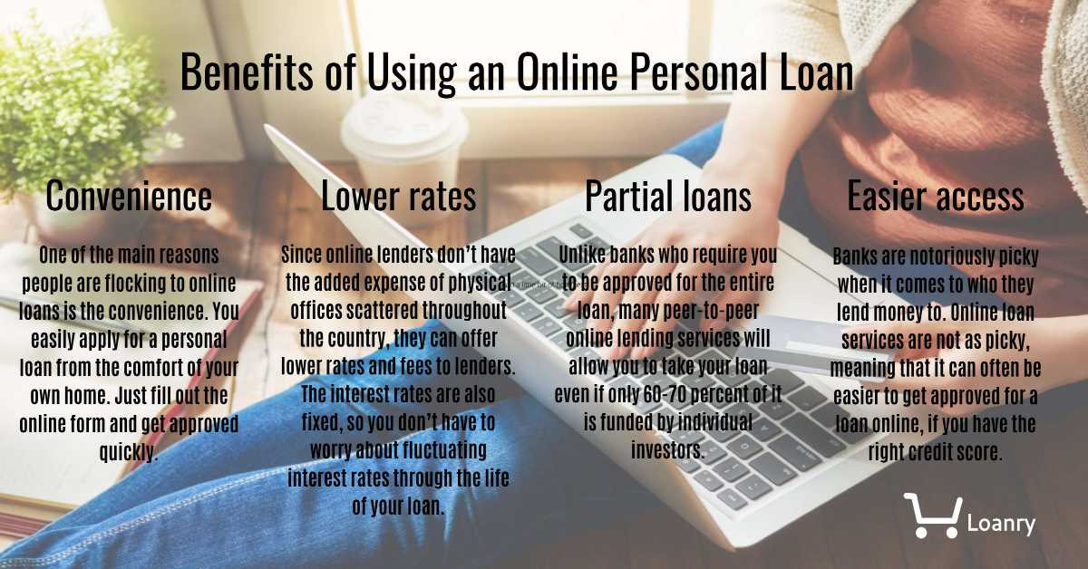 Benefits of using a online personal loan