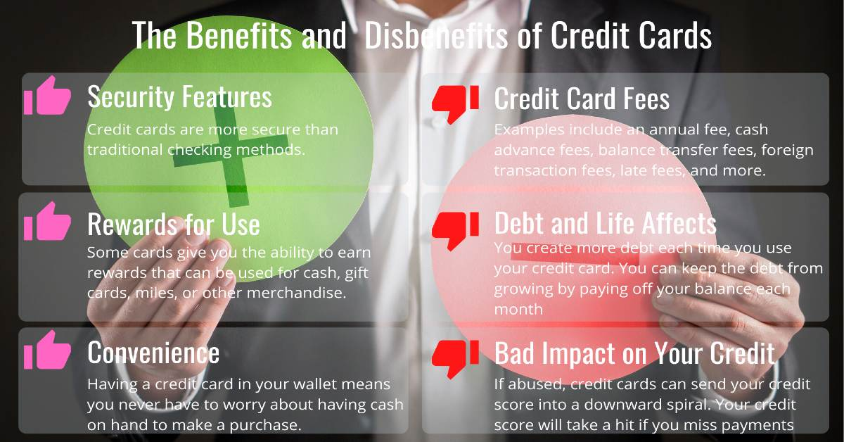 The prons and cons of credit cards