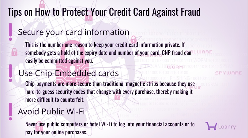 Credit Card fraud protection tips