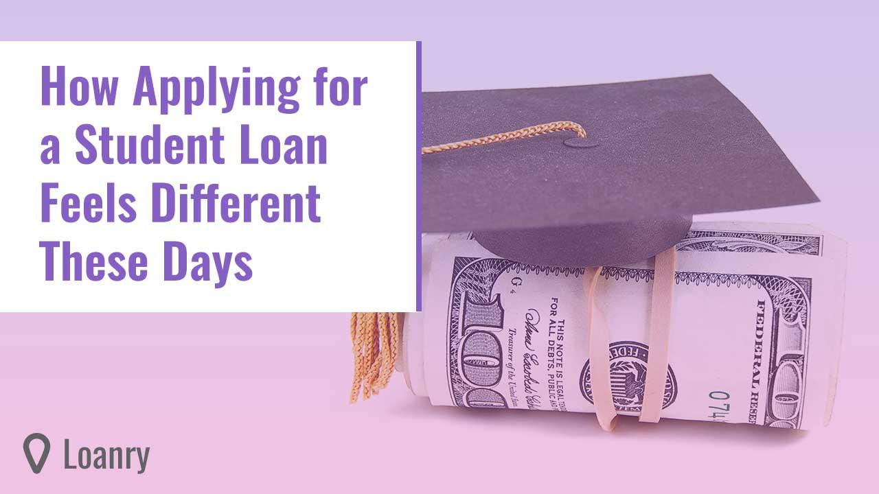 Mini graduation cap on rolled up cash.