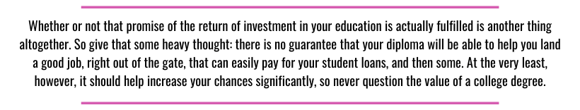 student loan quote